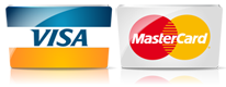 Safeguard Storage of WI conveniently accepts Credit Card / Debit Cards (Visa & MasterCard)