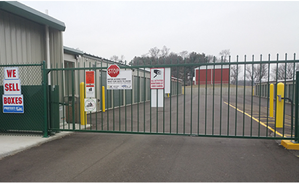 Safeguard Storage of Wisconsin | Secure Outdoor Gated Facility w/ Remote Access Gate | Gate 01